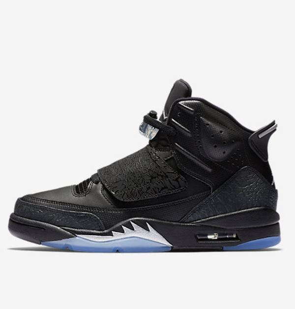 sports shoes 67fa8 68454 THE SNEAKER ADDICT: Air Jordan Son Of Mars Blackout Retro ...