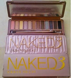 Naked 3 Eye Shadow Urban Decay Pallete