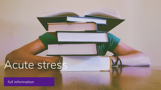 Acute stress symptoms || Stress and your health