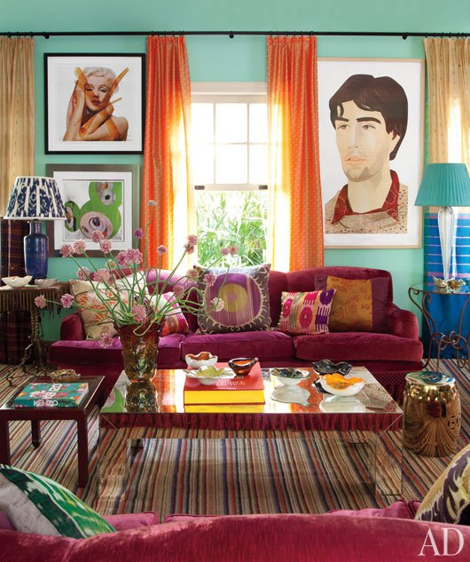 Colorful Living Room Interior Decor Ideas: Life Thoughts