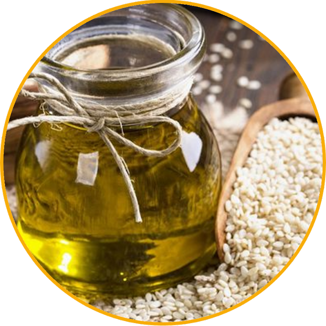 What are the benefits of sesame oil? Sesame oil also contains vitamin E which is rich in nutrients so it is very good for beauty. In addition, sesame oil is still enriched with various other nutrients that are beneficial for health and beauty. Linoleic acid, linolenic acid, and sesamin are some examples. If you want to start a healthy life, there's nothing wrong with trying sesame oil.