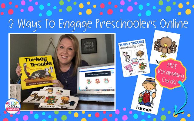 Preschool Distance Learning Ideas