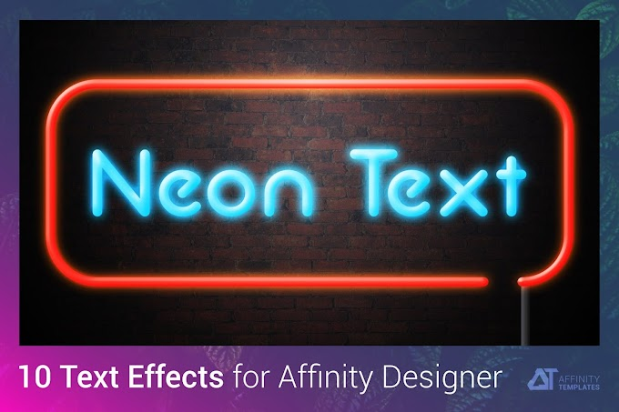 Neon Text Effect[Affinity Designer][Action][4983521]