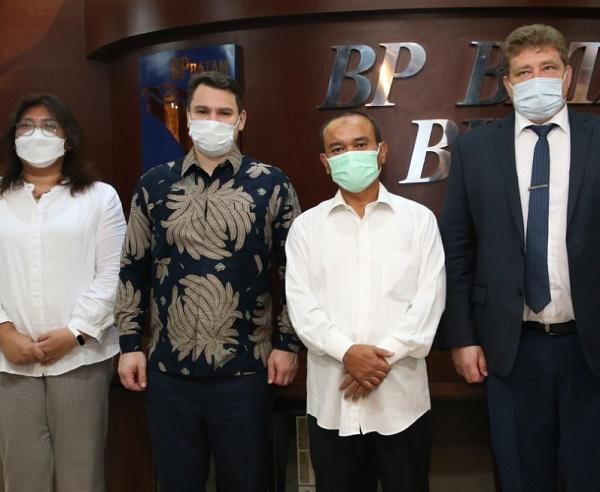 Kantor Perwakilan Perdagangan Kedutaan Besar Rusia Sambangi BP Batam, Siap Wujudkan Investasi