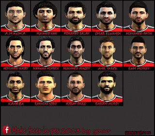Facepack EGYPT 2016 Pes 2013 By Youo