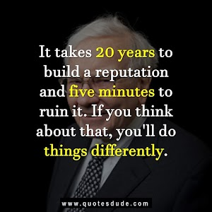 Three Golden Rules By Warren Buffett With Quotes