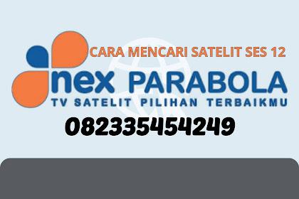 Cara Mudah Mencari (Tracking) Siaran TV NEX PARABOLA