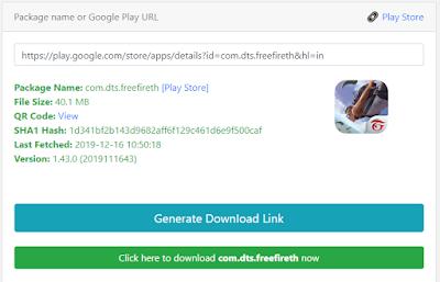 download free fire di pc