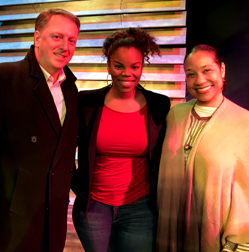 Klook and Vinette | Horizon Theatre | Travis, Brittany, and Elisa