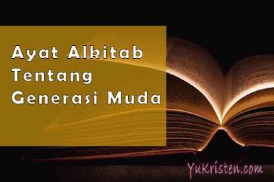 ayat alkitab tentang generasi muda