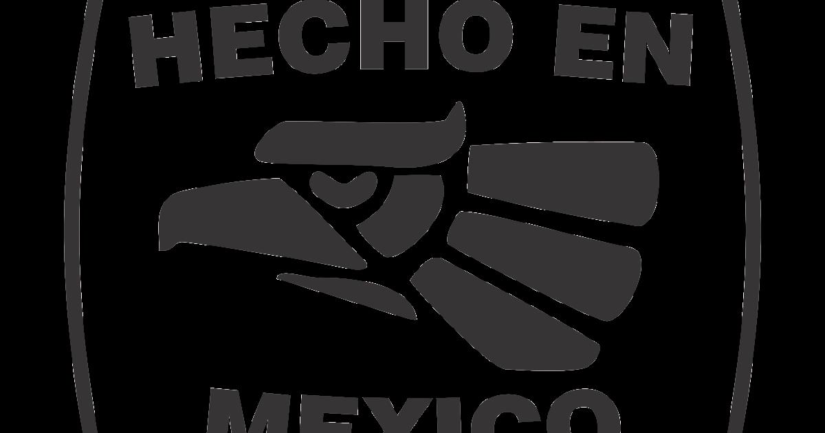 hecho en mexico logo vector~ format cdr, ai, eps, svg, pdf, png