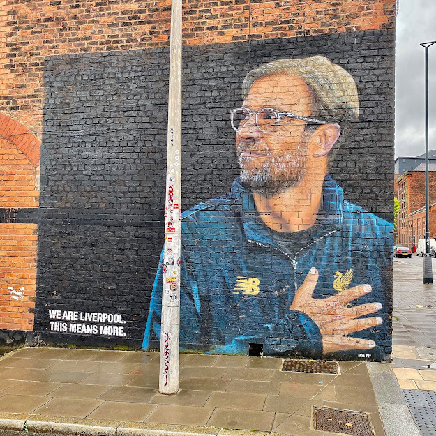Jurgen Klopp Street Art Mural Graffiti Liverpool Baltic Triangle where is it