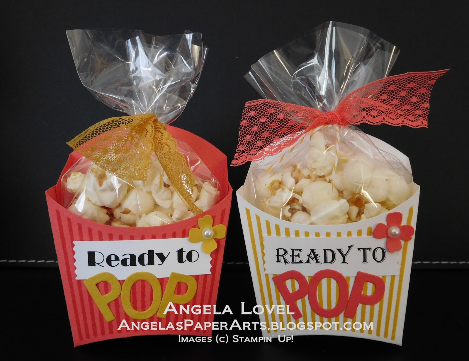 Angela s PaperArts Ready to Pop Baby Shower Treats