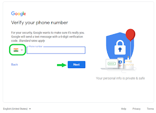 add your phone number to your account