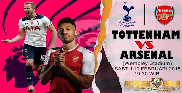 Prediksi Tottenham vs Arsenal 10 Februari 2018