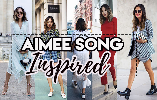 Inspire-se nos looks de Aimee Song