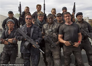 The Expendables movie franchise