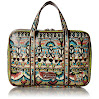 Sakroots Women's Artist Circle Critter Travel Case, Natural One World