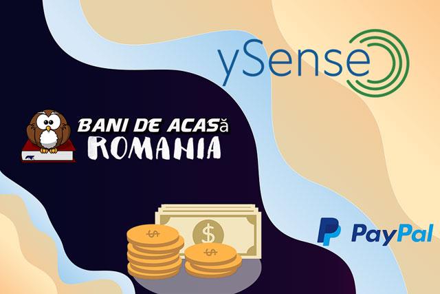 paid surveys with ySense