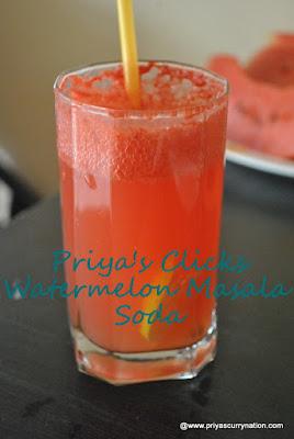 Water-melon Masala Soda