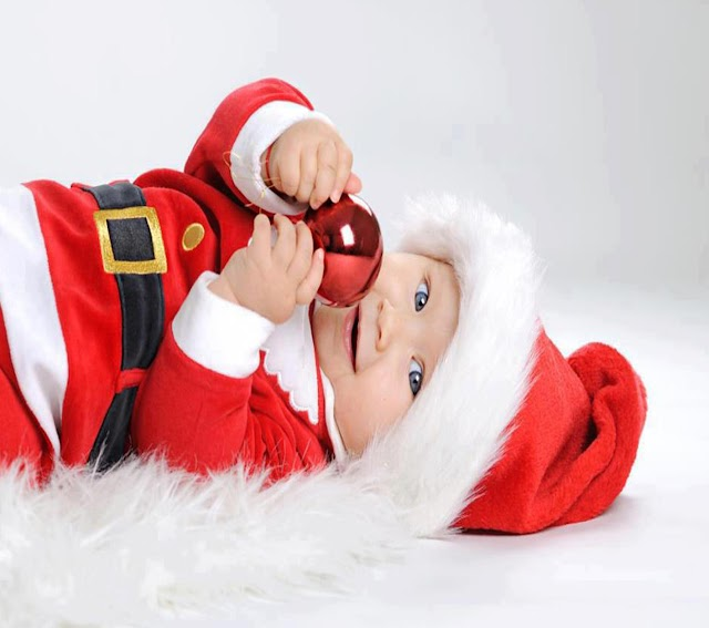 MERRY CHRISTMAS CUTE BABY IMAGES | PICTURES
