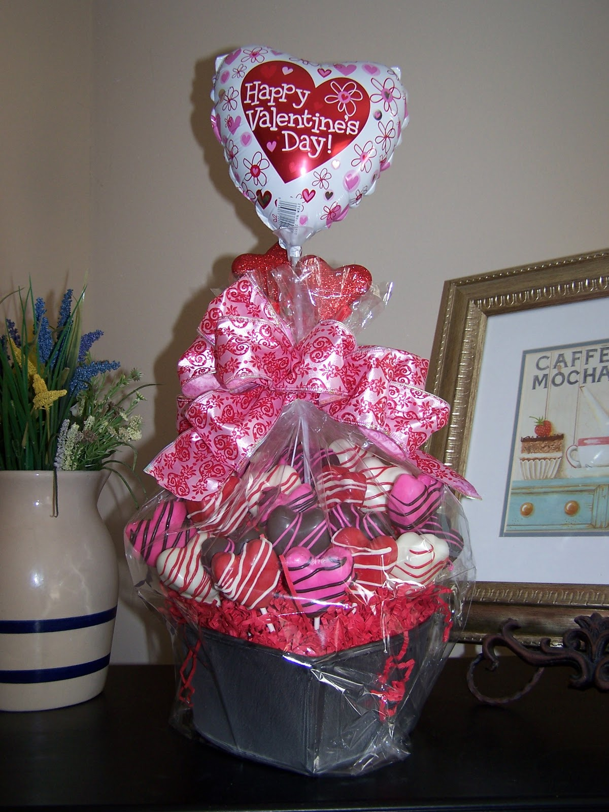 Sweet Bites Valentine Cupcakes And Cake Ball Pop Bouquet