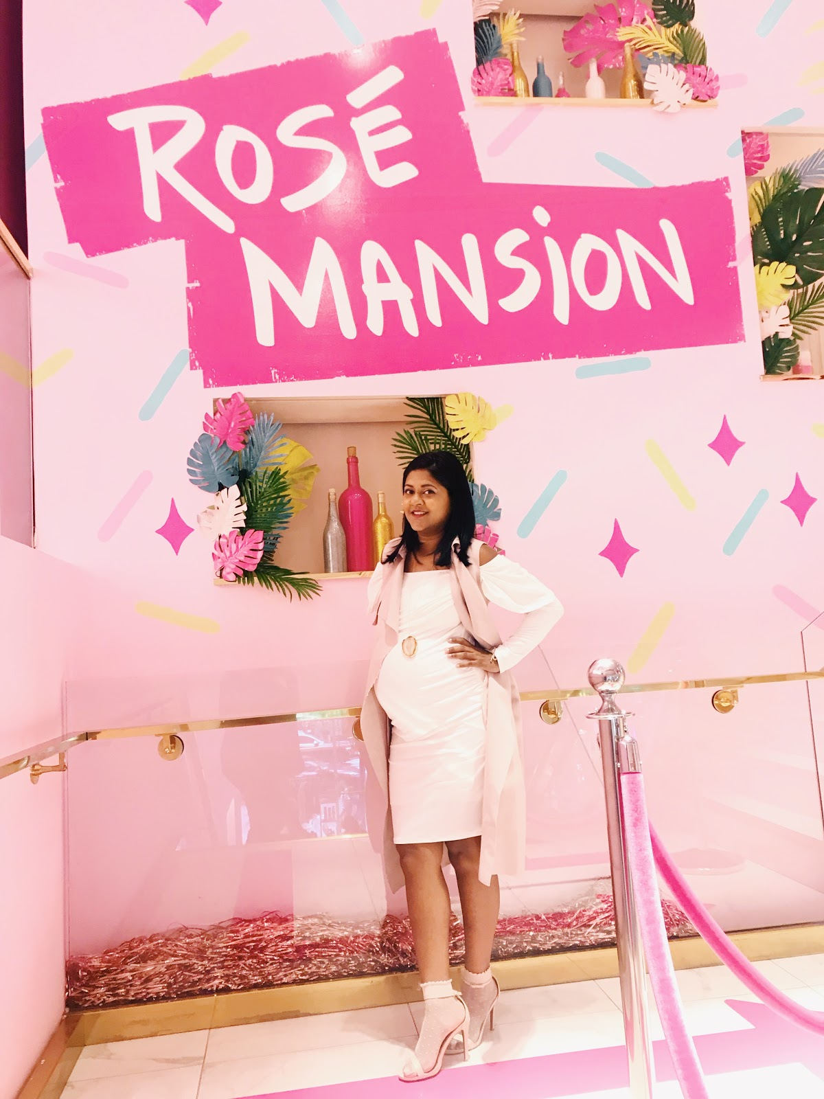 Rose mansion pop up experience in new york