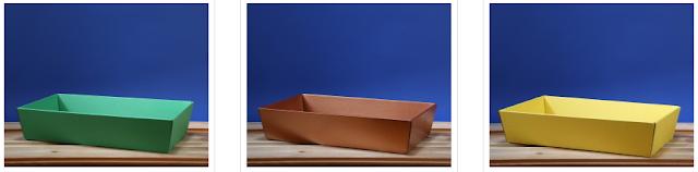 Kosz prezentowy prostokątny 25 x 46