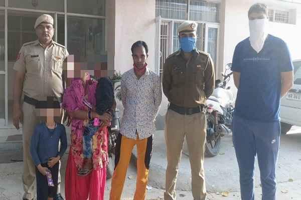 faridabad-news-sector-19-police-chowki-find-missing-girl