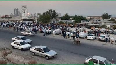 المقاومة الإيرانية تدعو جميع العاملين وعمال النفط لدعم العمال والعاملين المضربين في مصافي النفط والمنشآت النفطية