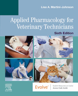 Applied Pharmacology for Veterinary Technicians 6th Edition