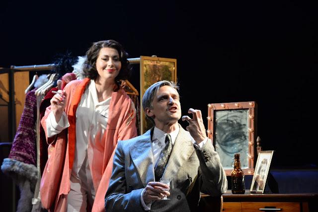Sondheim: A Little Night Music - Stephanie Corley, Quirijn de Lang - Opera North, Leeds Playhouse (Photo Sharron Wallace)