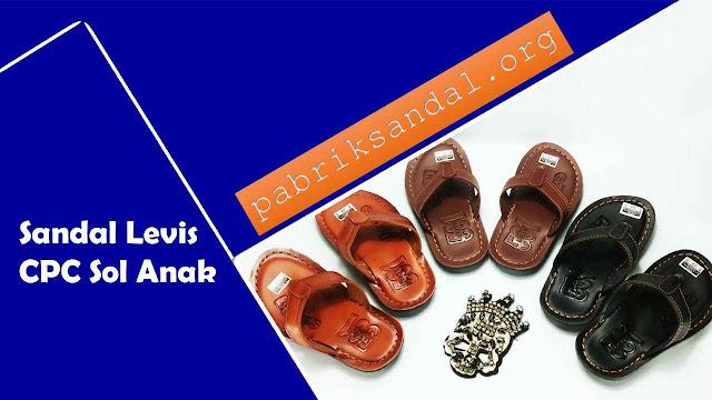 Sandal Imitasi CPC Levis Sol Anak - Sandal Imitasi Kulit Murah