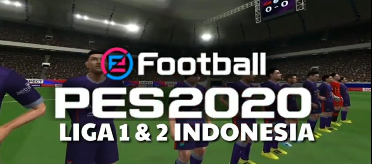 PES SLI 2020 Mod Liga Shopee Bahasa Indonesia PPSSPP 400Mb Update Terbaru