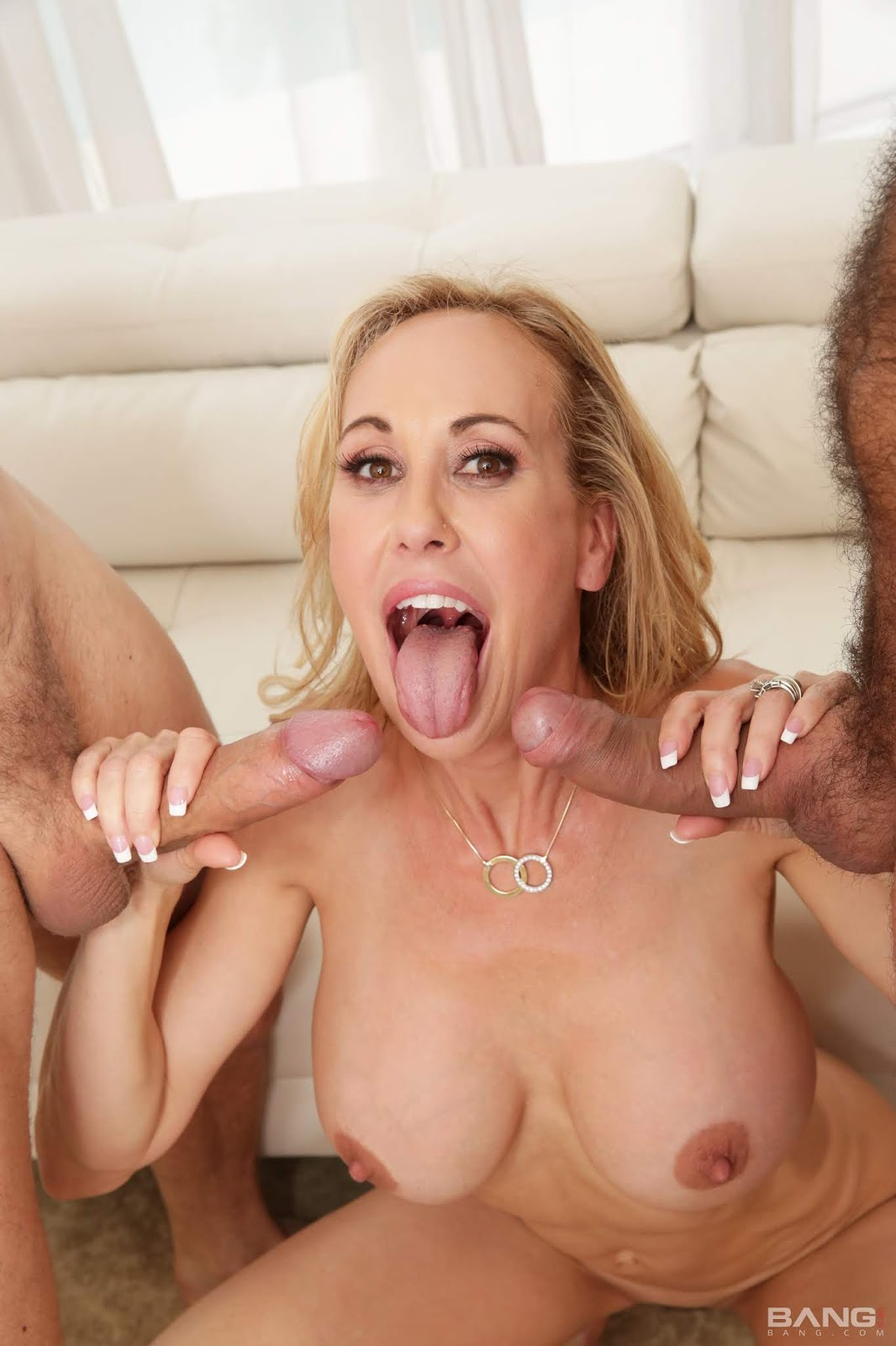 Brandi love swallowing