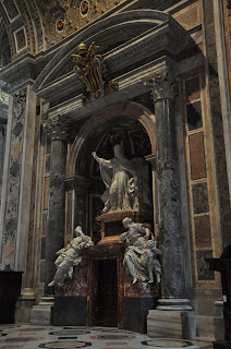 St Peter's Basilica has a monument marking the tomb of Benedict XIV