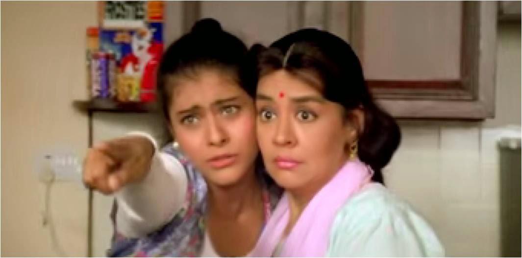 Kajol as Simran in DDLJ