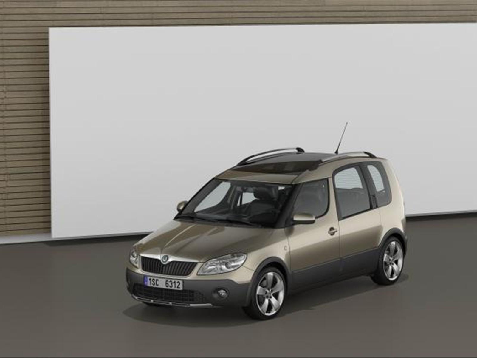 car pictures skoda roomster scout 2011. Black Bedroom Furniture Sets. Home Design Ideas
