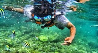 objek wisata di jogja menjadi spot snorkeling
