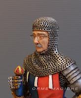 soldatino con volto ritratto reale uomo anziano con occhiali idea regalo nonno modellini fatti a mano orme magiche