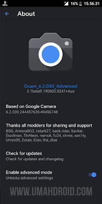 Gcam Zenfone Max Pro M1