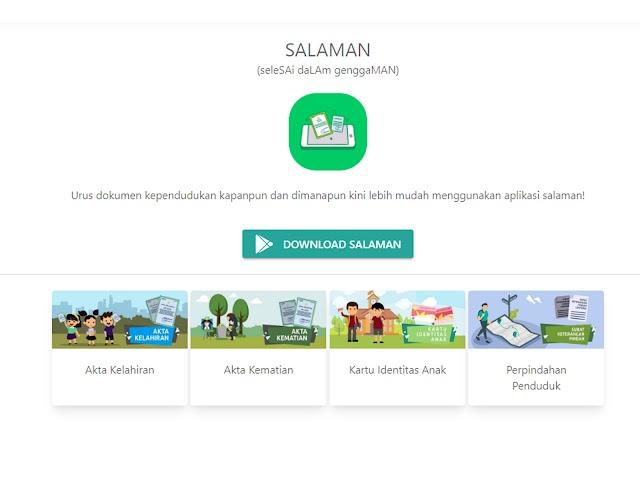 Ini Cara Bikin Dokumen Kependudukan di Kota Bandung Secara Online dengan Aplikasi Salaman