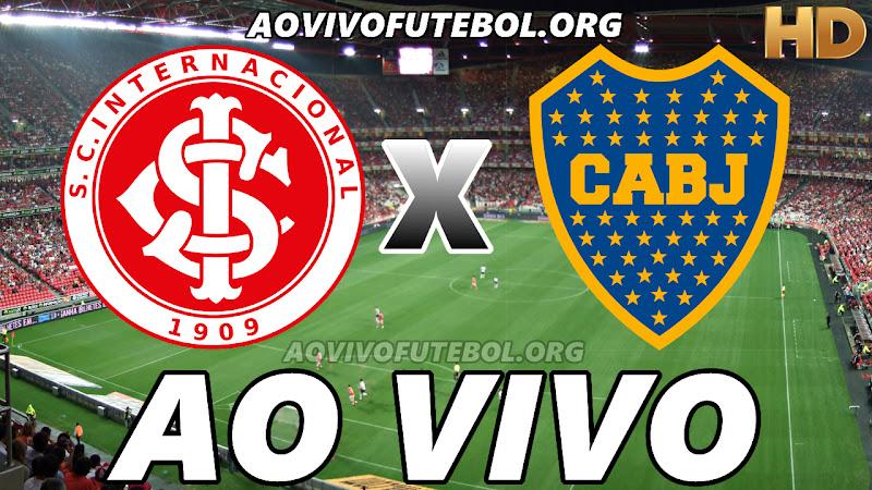 Internacional x Boca Juniors Ao Vivo na TV HD