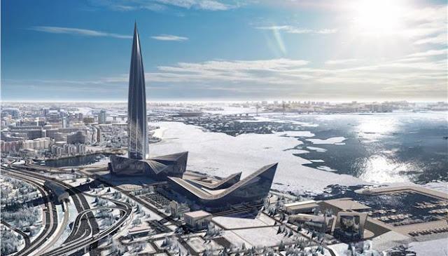 Κατασκευάστηκε ο πιο ψηλός ουρανοξύστης στην Ευρώπη ύψους 462 μέτρων (βίντεο)