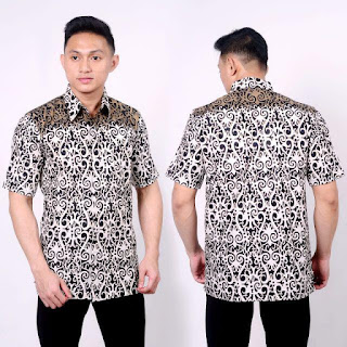 Kemeja Batik Pria No 5