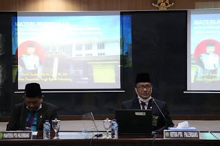 Rapat Koordinasi Pengadilan Agama Sewilayah Pengadilan Tinggi Agama Palembang