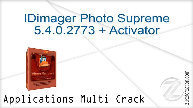 IDimager Photo Supreme 5.4.0.2773 + Activator