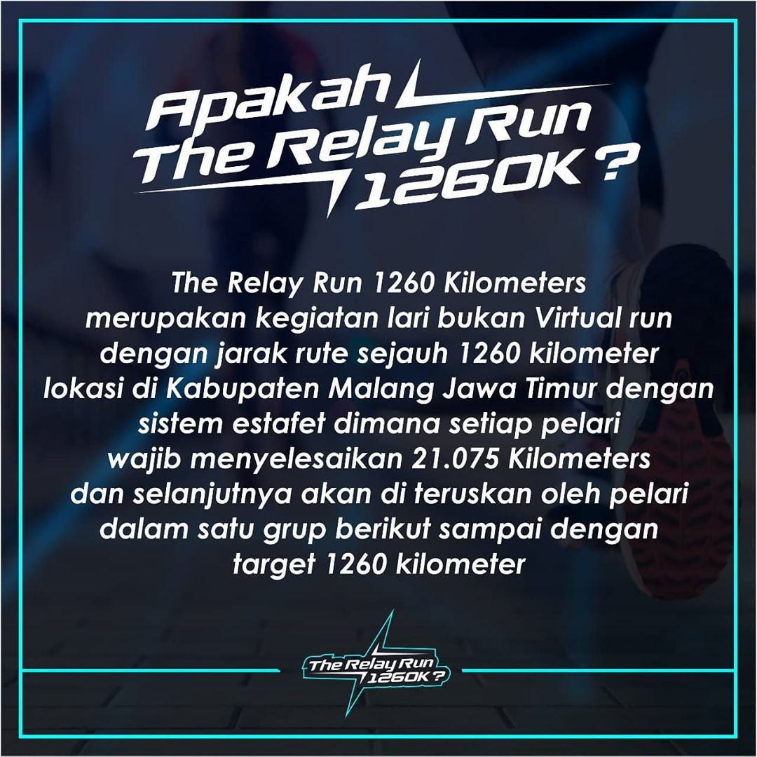 The Relay Run 1260K • 2020