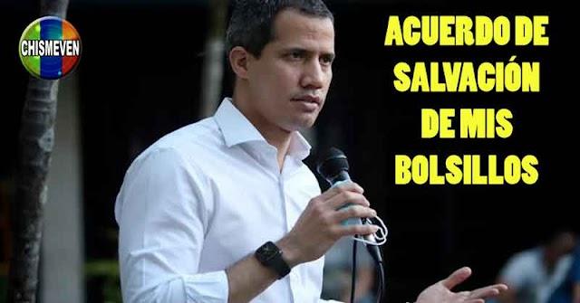 Juan Guaidó defrauda a sus seguidores presentándole un Acuerdo de Salvación inexplicable