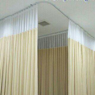 Gorden rumah sakit anti darah Deden Decor